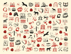 Classics endpapers