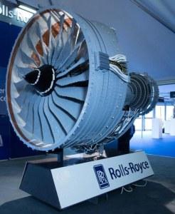 Lego rolls royce engine
