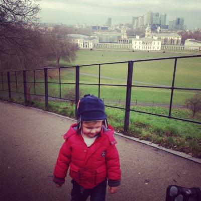 Steep hill Greenwich park